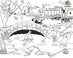 printable train thomas henry tank engine water