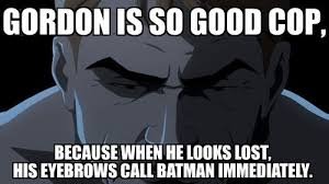 Batman Face Meme - the bat signal s written on his face superheroes superheroes
