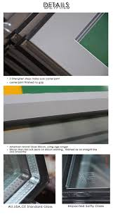 commercial aluminum glass doors double glazed commercial building entrance aluminum three panel