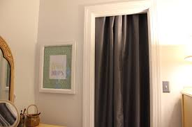 Curtains As Closet Doors Using Curtains For Closet Doors Designs Ideas And Decors