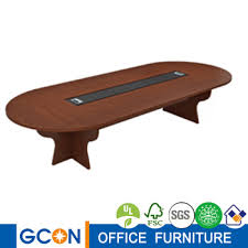 Oval Conference Table Wood Oval Large Meeting Room Conference Table For 10 People Buy