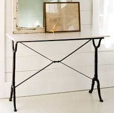 Pier One Console Table Appealing Iron Console Table With Marble Top 45 For Your Pier One