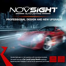 Led Light Bulbs For Headlights by Novsight Led Headlight For Car U0026trucks Working Light Light Bar