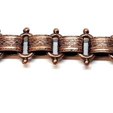 antique copper bracelet images Vintage jewelry chain book chain fancy book chain victorian jpg
