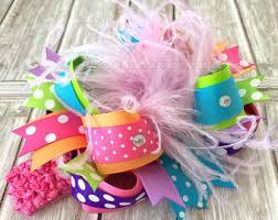 custom hair bows custom hair bow etsy