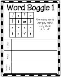 scrabble tiles spelling or word work activity to print from