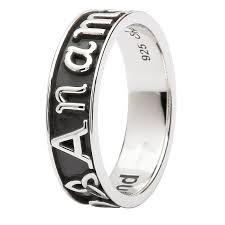 anam cara symbol silver mo anam cara ring