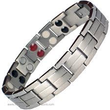 magnetic bracelet tool images Elar grey silver titanium germanium magnetic bracelet jpg