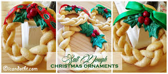 salt dough ornaments i can do that