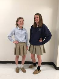 school 6th grade girl short skirt dress code parents st pius x school