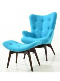 Armchair Ottoman Set Mirror Prism Side Table Modern Furniture U2022 Brickell Collection