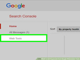 how to get keywords from google webmaster tools 6 steps