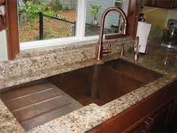 brown kitchen sinks copper sinks by circle city copperworks custom copper sinks