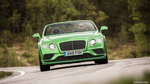 green bentley 2016 bentley continental gt speed convertible apple green