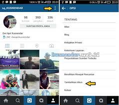 cara membuat akun instagram secara online cara login dua akun instagram di 1 hp android tanpa aplikasi kusnendar