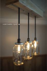 Canning Jar Lights Chandelier Jar Pendant Light
