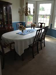 can you put a rectangle tablecloth on a round table square tablecloth on oval table