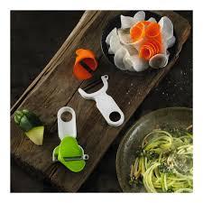 econome ustensile de cuisine click n curl economes à julienne set à 2 blister ustensiles de cuisine
