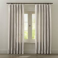 Tree Curtain Kendal Natural Curtains Crate And Barrel