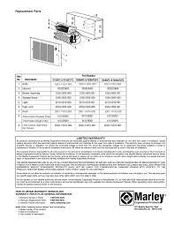 fan forced wall heater parts qmark gfr series fan forced wall heaters user manual page 6 6