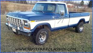 78 Ford F150 Truck Bed - 1978 f150 1 2 ton long bed 4x4 regular cab ranger xlt blue and