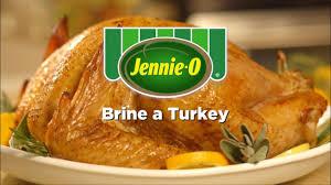 why brine turkey thanksgiving jennie o turkey how to brine a turkey youtube