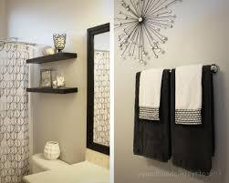 bathroom wall decorations ideas bathroom towel decor ideas home design gallery www