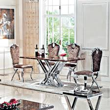marble and stainless steel dining table marble dining table set price marble dining set buy in johor