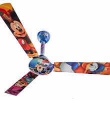 Mickey Mouse Ceiling Fan See Your Room Come To Life Warisan - Fan for kids room
