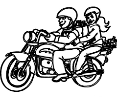 images motorcycle coloring pages 43 with additional drawing with