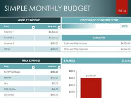 Excel Template Monthly Budget Excel Template Microsoft Excel Templates