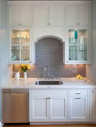 vintage kitchen backsplash white cabinets with grey backsplash tile brown and plus grey and