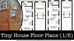 Floor Plans For Tiny Houses by What To Think About When Choosing Your Tiny House Floor Plan 1 5