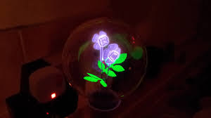 Flower Light Bulbs - vintage argon glow discharge flower bulb youtube