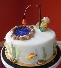 first birthday fishing cake más gavin u0027s 1st bday pinterest