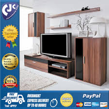 living room furniture sets lounge furniture ebay modern living room furniture set tv unit cabinet stand cupboard wall shelves