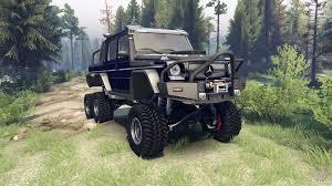 dark blue jeep mercedes benz g65 amg 6x6 final dark blue for spin tires