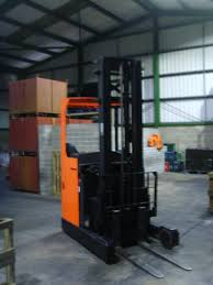 new reach truck joins our forklift training fleet