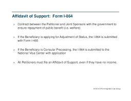 affidavit of support affidavit of support of application for