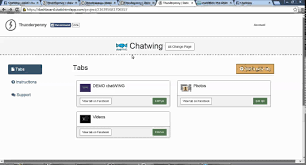 how to install a live chat room to any facebook page chatwing