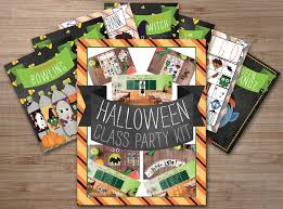 healthy halloween class party kit super healthy kids