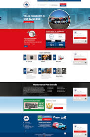 Home Comfort Services Hvac Website Design Portfolio Dallas Web Design Agency Dallas