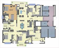 4 Bedroom Single Floor House Plans Australian Country House Plans Bhk Home Design Duplex Plan Modern