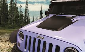 jeep vented hood amazon com daystar jeep jk wrangler hood cowl reduce under hood