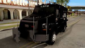 swat vehicles cars for replacement enforcer for gta san andreas