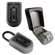 digital key lock box wall mount portable safe ebay