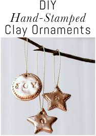 diy sted clay ornaments erin spain