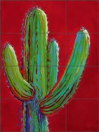 Ceramic Tile Mural Backsplash by Ceramic Southwest Tile Murals And Backsplashes Artwork On Tile