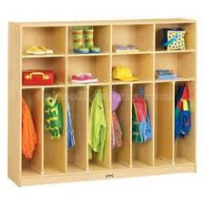 diy kids lockers daycare storage diy buy a shelf attach to the wall sideways