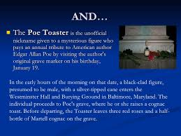 Poe Toaster Edgar Allan Poe Background